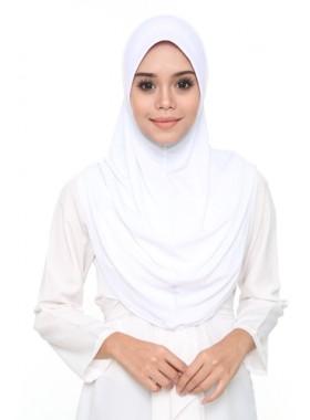Basic Hijab White