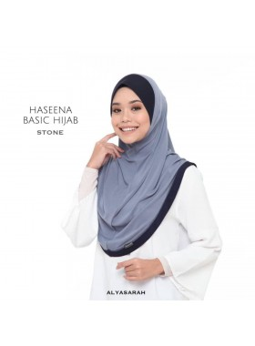 Haseena Basic Hijab - Stone