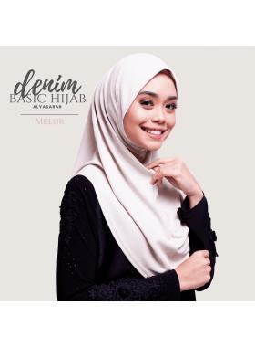 Basic Hijab Denim - Melur