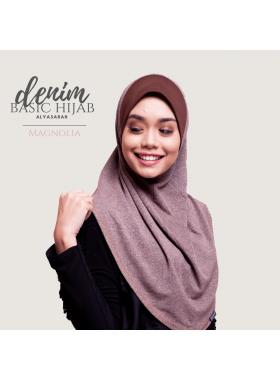 Basic Hijab Denim - Magnolia