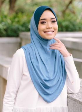 Basic Hijab - Vivid Blue