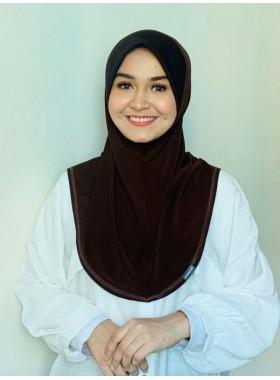 Basic Hijab Dark Choco