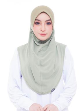Basic Hijab Sage Green #143