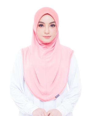 Basic Hijab Pinky Peach #85