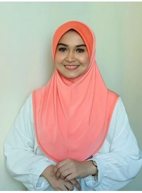 Basic Hijab Pinky Peach