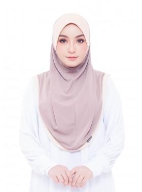 Haseena Basic Hijab - Hazelnut