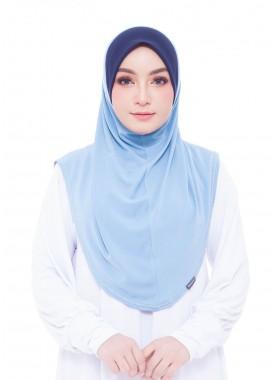 Basic Hijab - Baby Blue #123