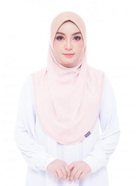 Basic Hijab - Light Cream #128