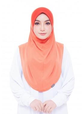 Basic Hijab - Orange #5